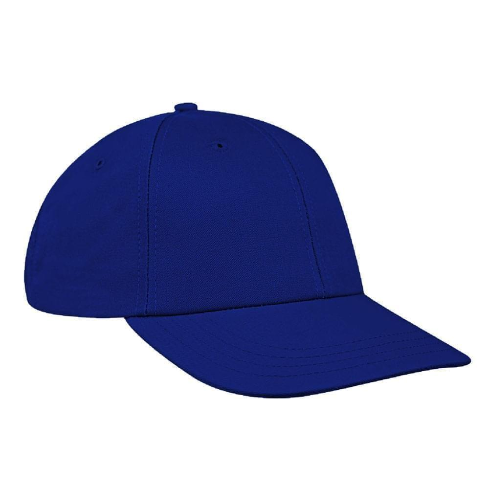 Royal Blue Canvas Snapback Lowstyle