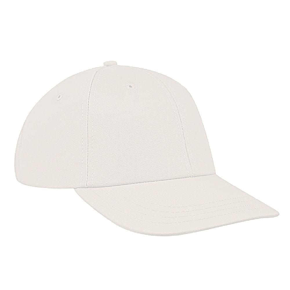 White Canvas Snapback Lowstyle