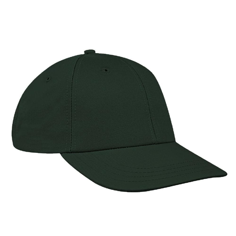 Hunter Green Canvas Snapback Lowstyle