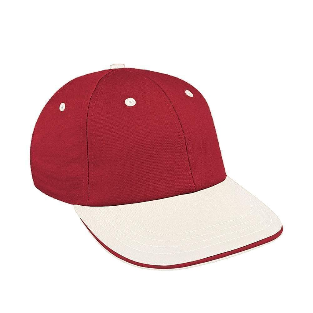 465501b224887 Canvas Self Strap Lowstyle Baseball Caps Union Made in US by Unionwear