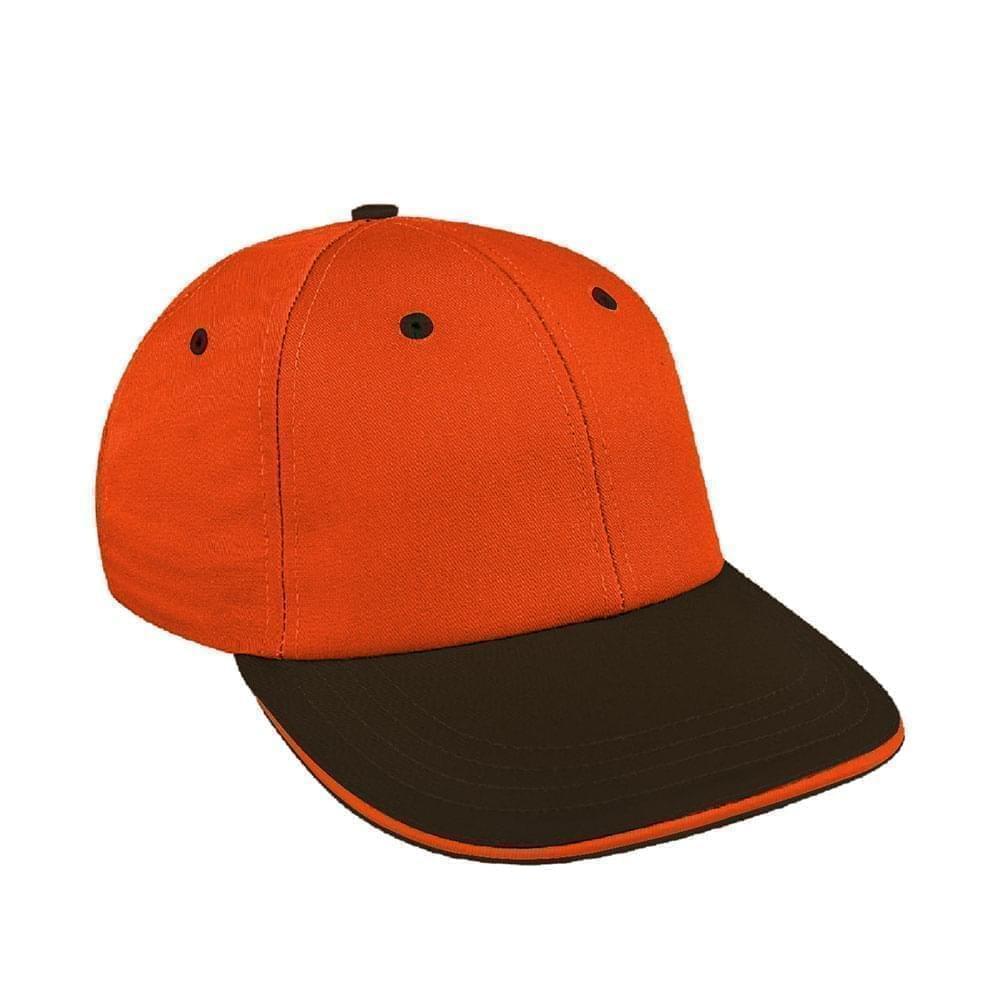 Orange-Black Canvas Snapback Lowstyle