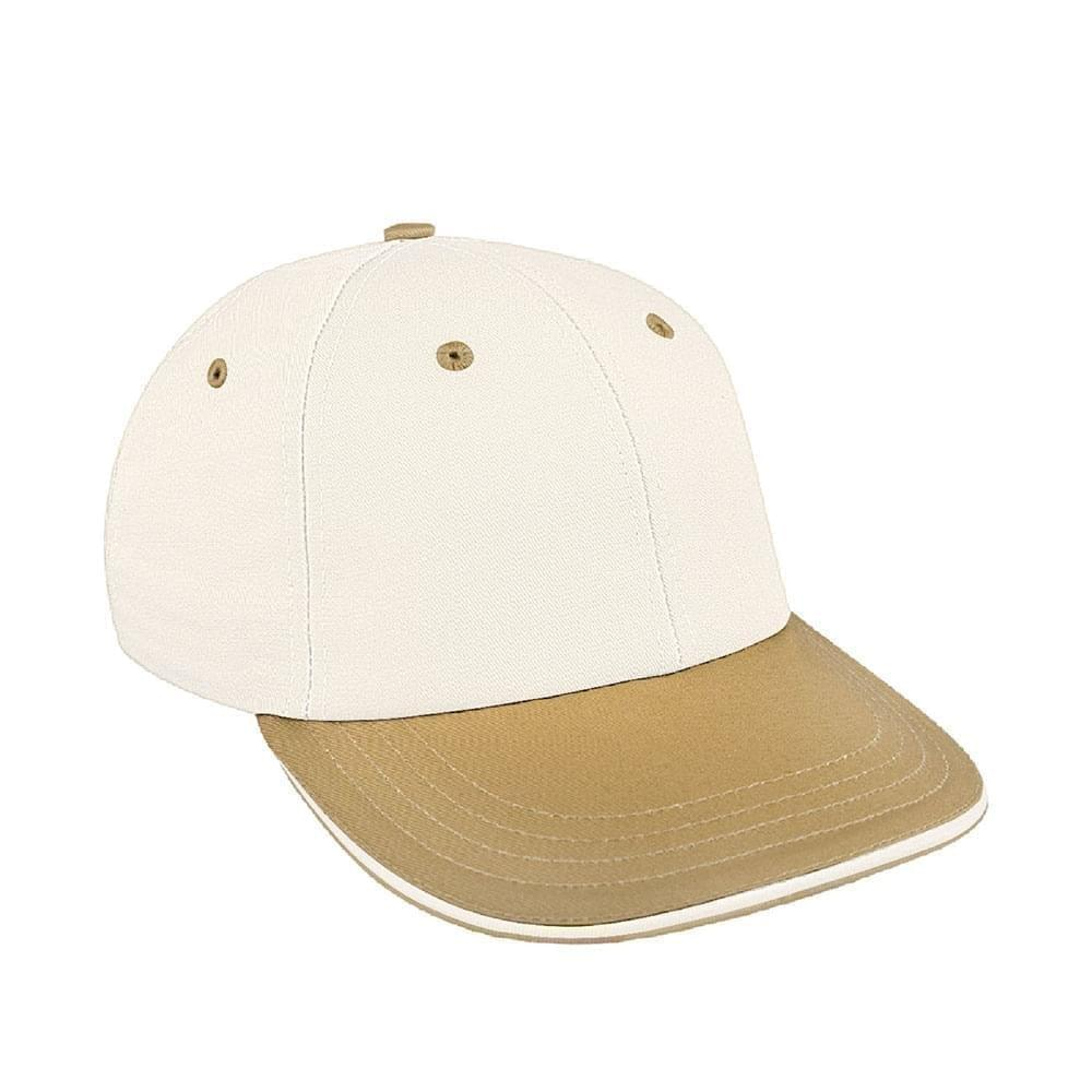 Two Tone Sandwich Canvas Snapback Lowstyle