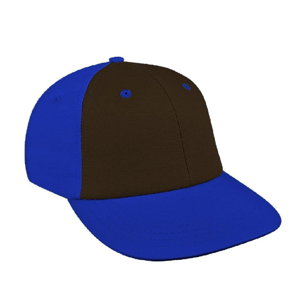 Black-Royal Blue Canvas Velcro Lowstyle