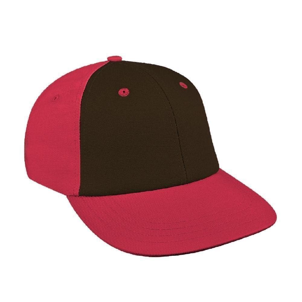 Black-Red Canvas Velcro Lowstyle