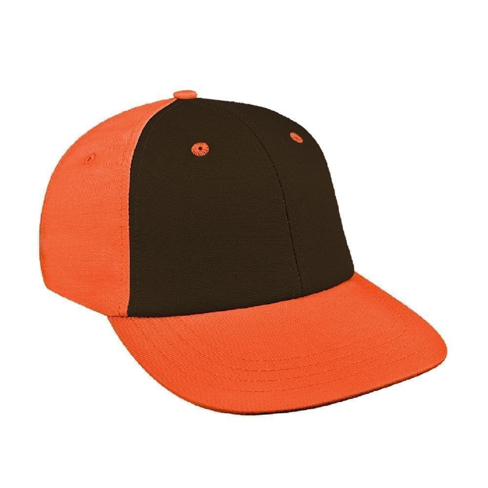 Black-Orange Canvas Velcro Lowstyle