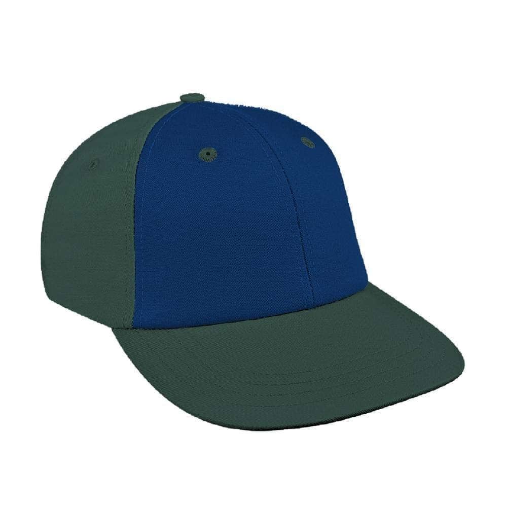 Navy-Hunter Green Canvas Velcro Lowstyle