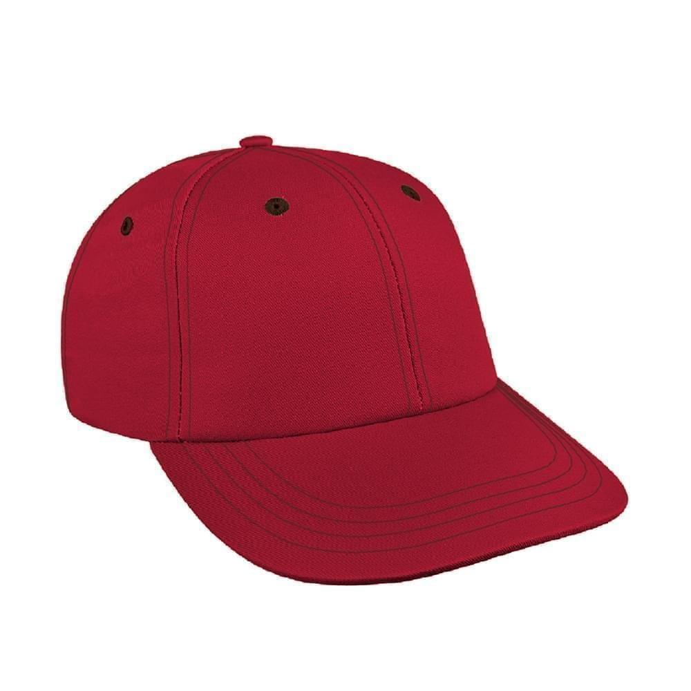 Contrast Stitching Twill Snapback Lowstyle