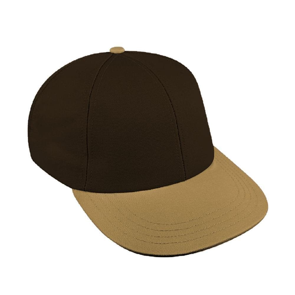 Black-Khaki Canvas Snapback Lowstyle