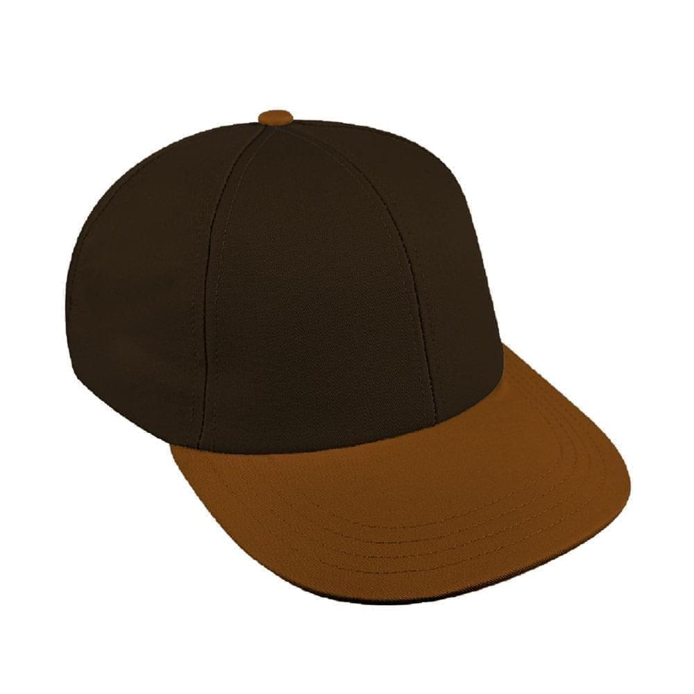 Black-Light Brown Canvas Velcro Lowstyle