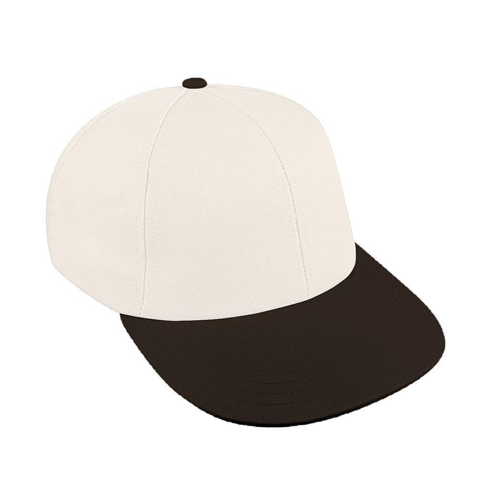 White-Black Canvas Velcro Lowstyle