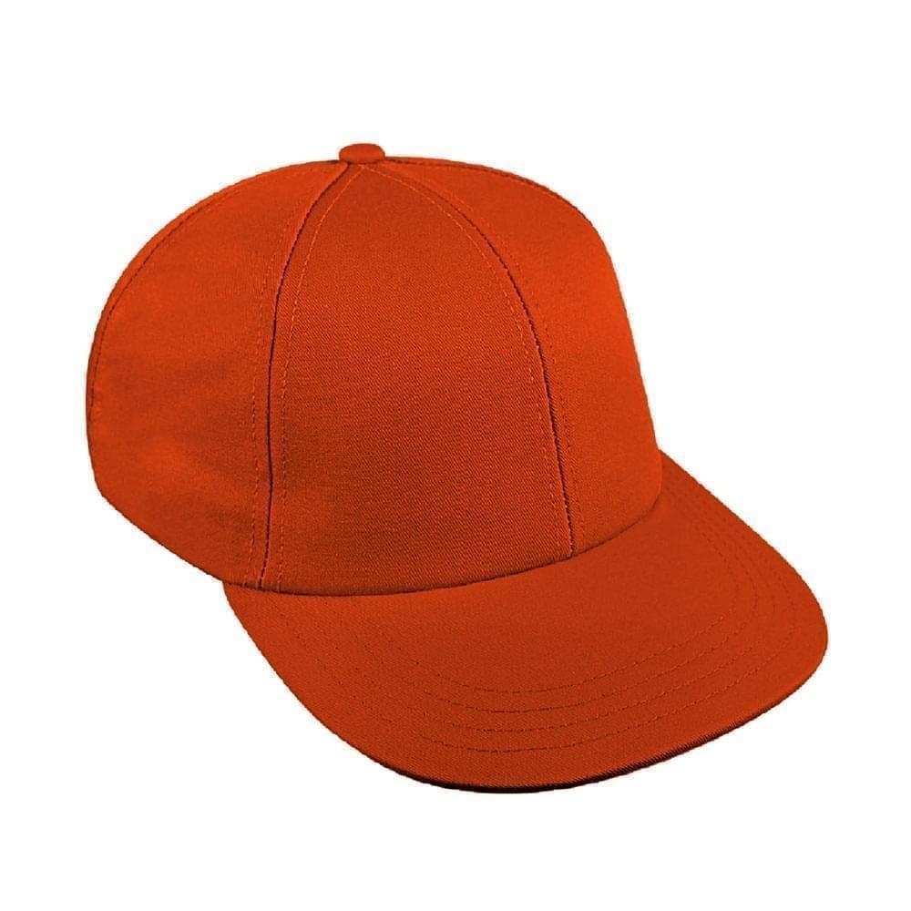 Orange Canvas Velcro Lowstyle