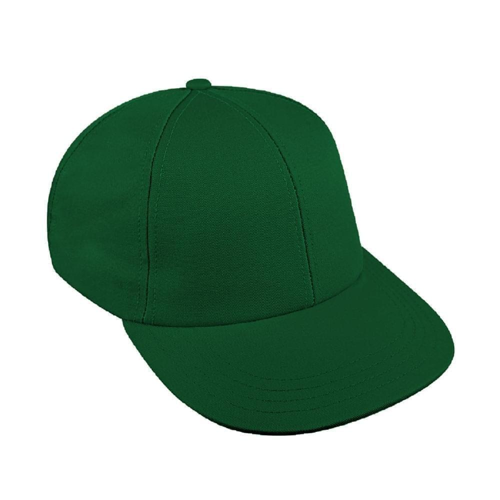 Solid Color Wool Snapback Lowstyle