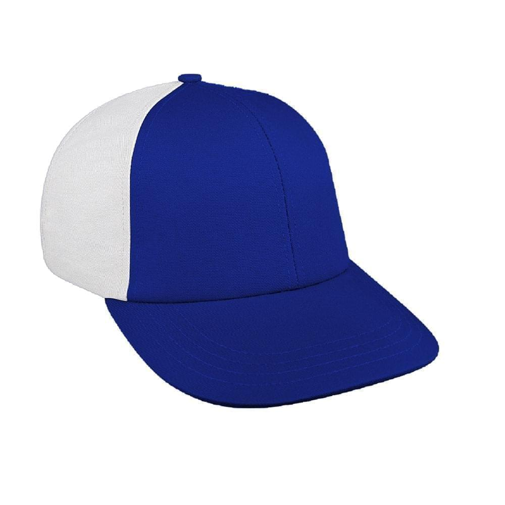 Royal Blue-White Canvas Leather Lowstyle