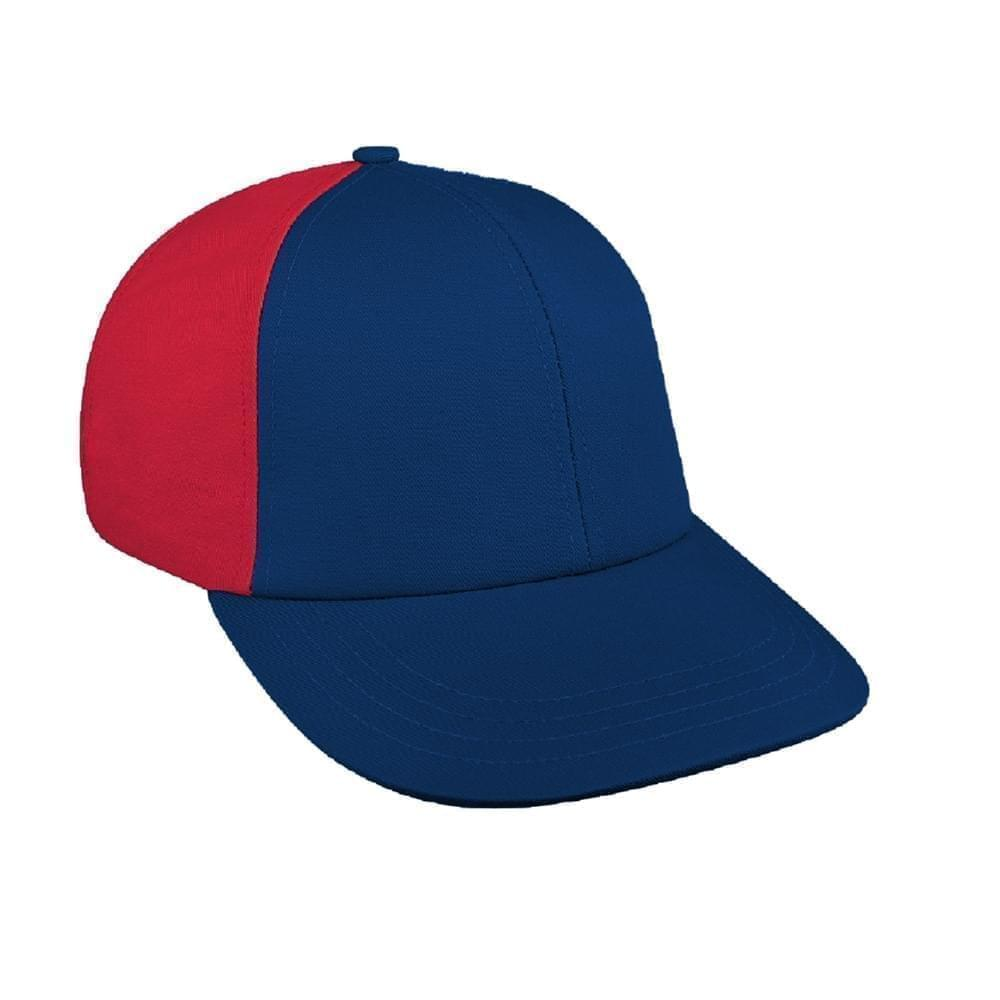 Contrast Back Canvas Snapback Lowstyle