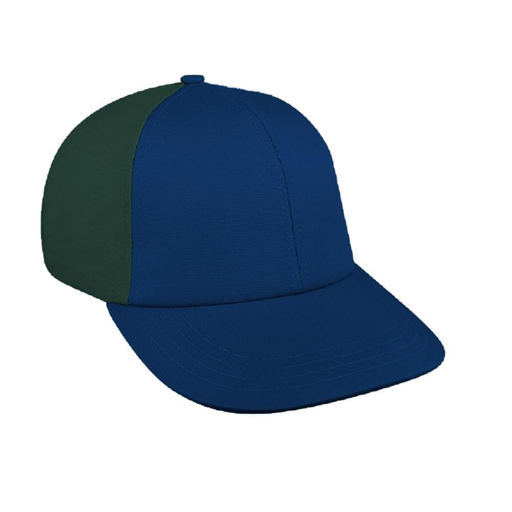 Navy-Hunter Green Canvas Leather Lowstyle