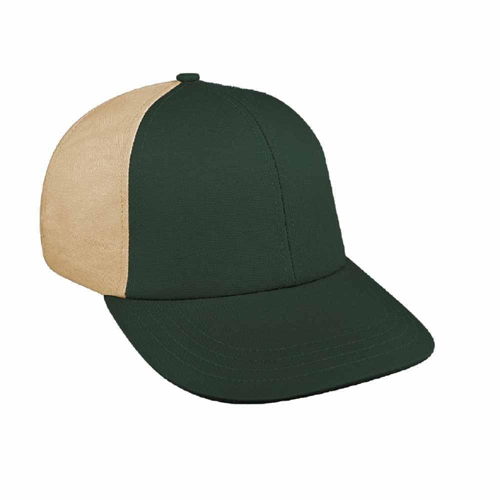 Hunter Green-Khaki Canvas Slide Buckle Lowstyle