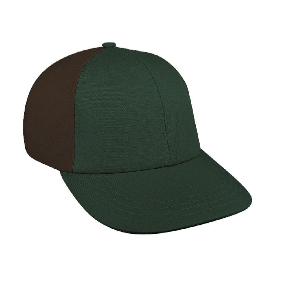 Hunter Green-Black Canvas Velcro Lowstyle