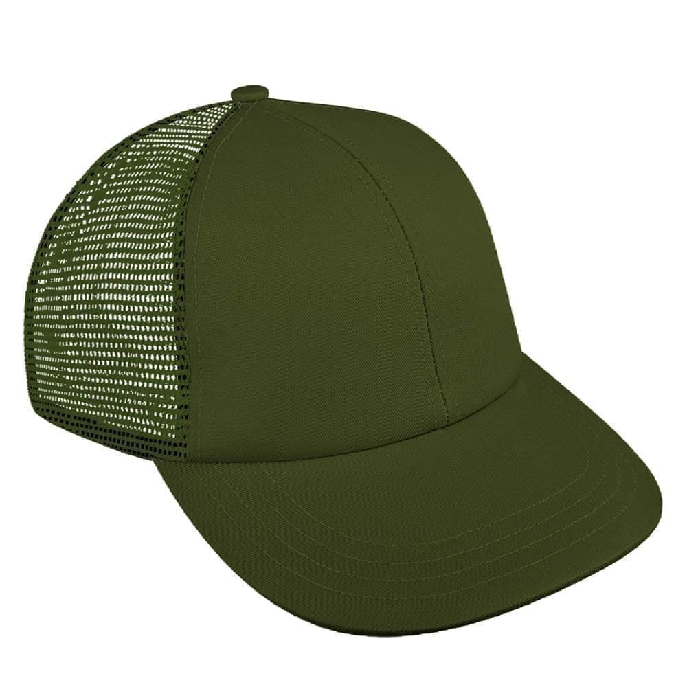 Solid Mesh Back Meshback Snapback Lowstyle