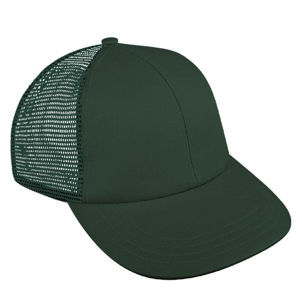 Solid Mesh Back Brushed Front Snapback Lowstyle