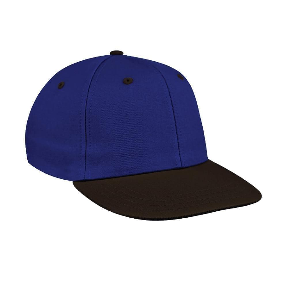Royal Blue-Black Canvas Velcro Prostyle