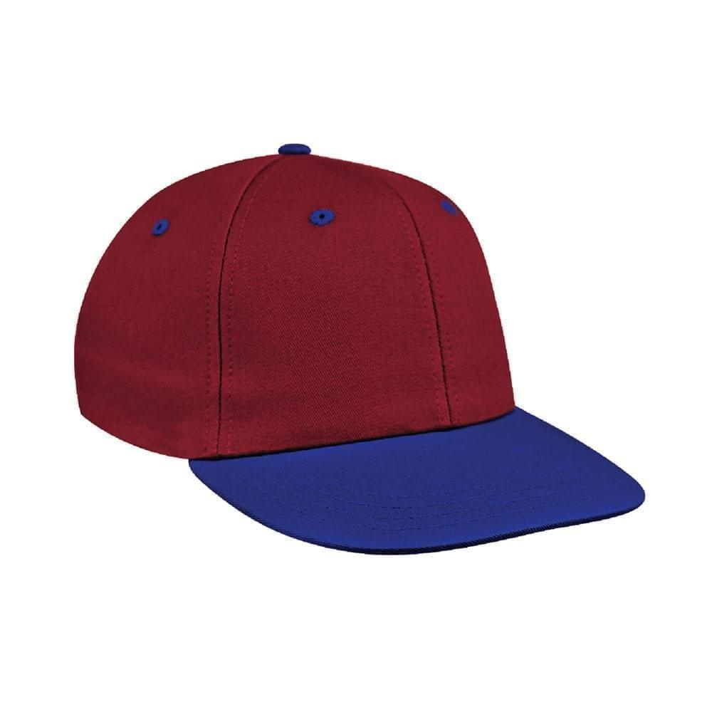 Red-Royal Blue Canvas Velcro Prostyle