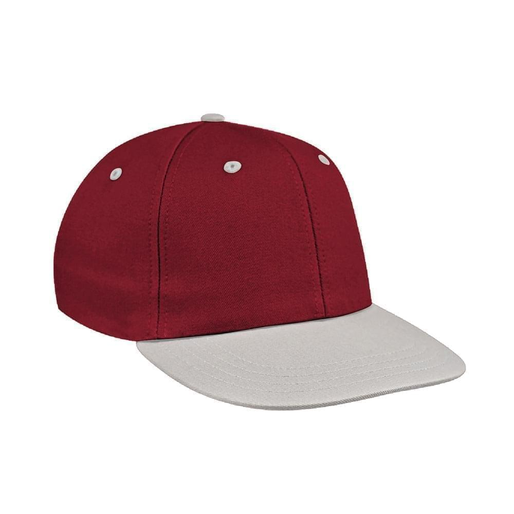 Red-White Canvas Leather Prostyle