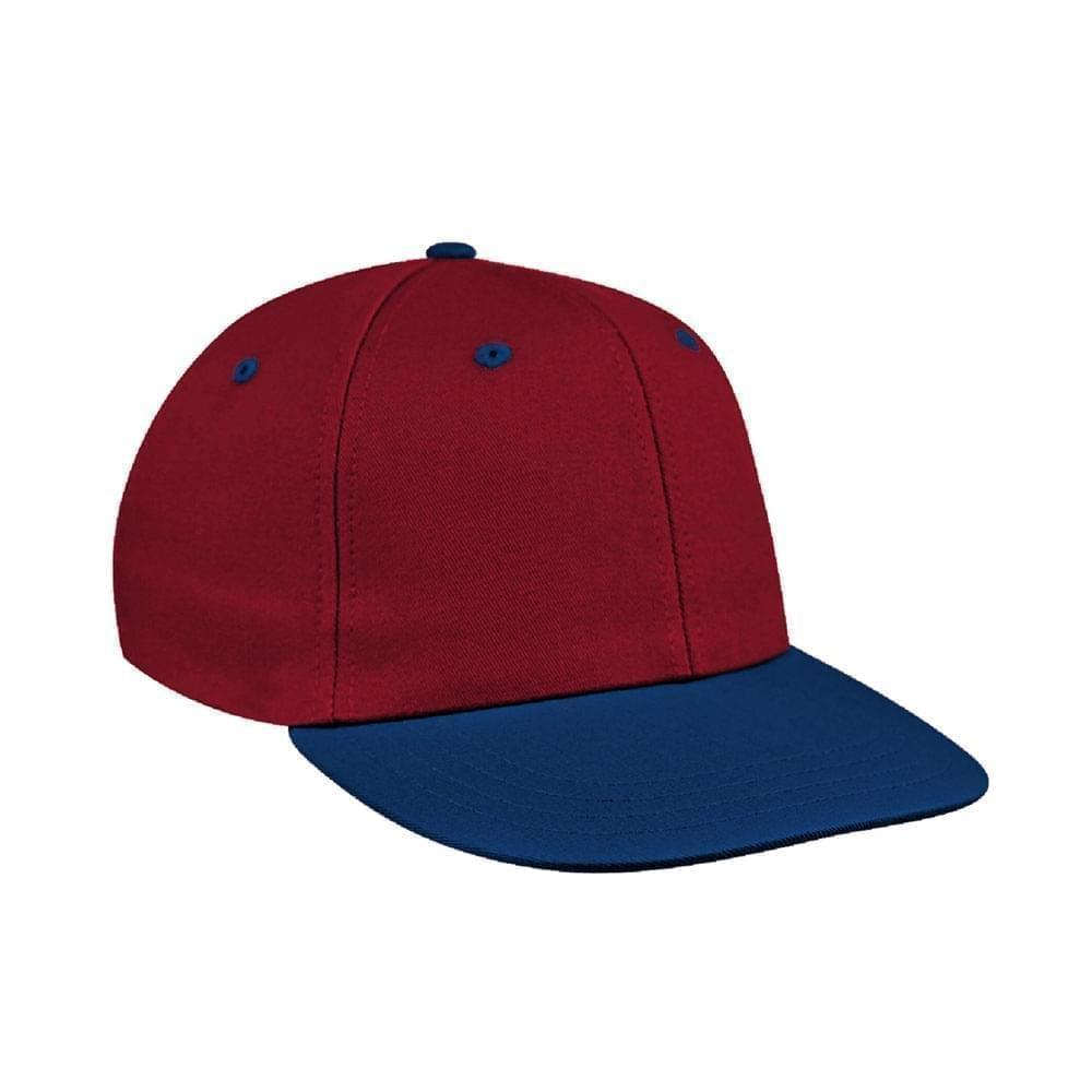 Red-Navy Canvas Snapback Prostyle