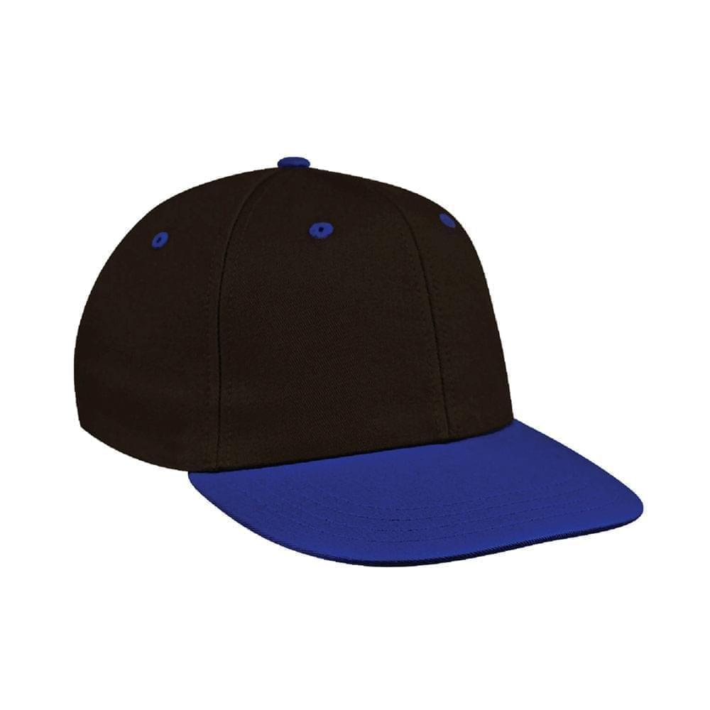 Black-Royal Blue Canvas Velcro Prostyle