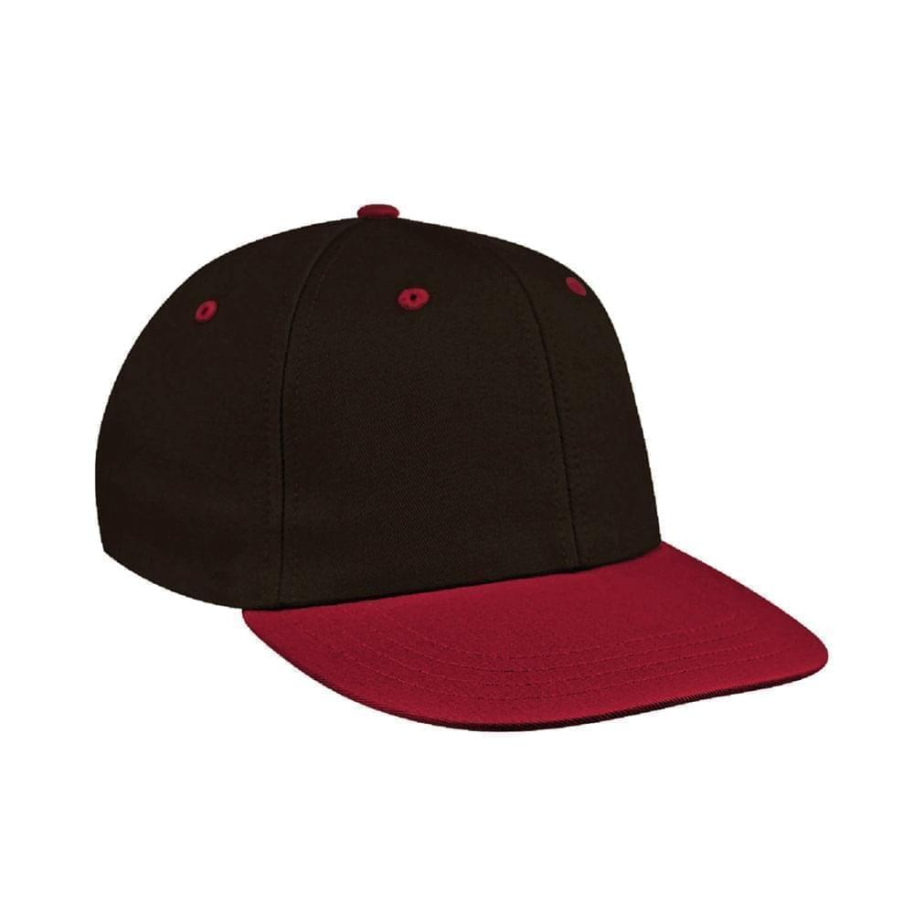 Black-Red Canvas Velcro Prostyle