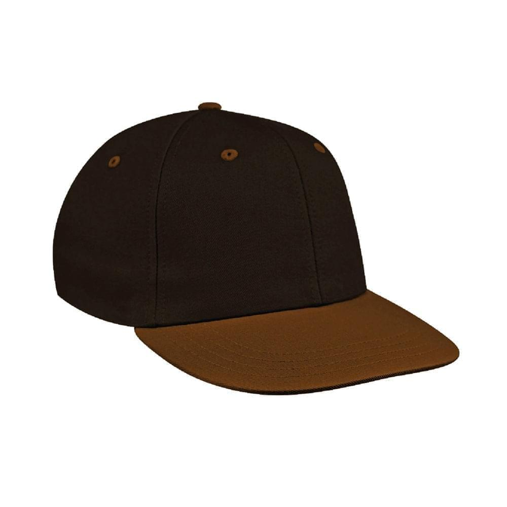 Black-Light Brown Canvas Leather Prostyle