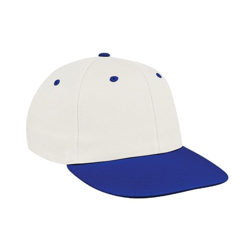 White-Royal Blue Canvas Leather Prostyle