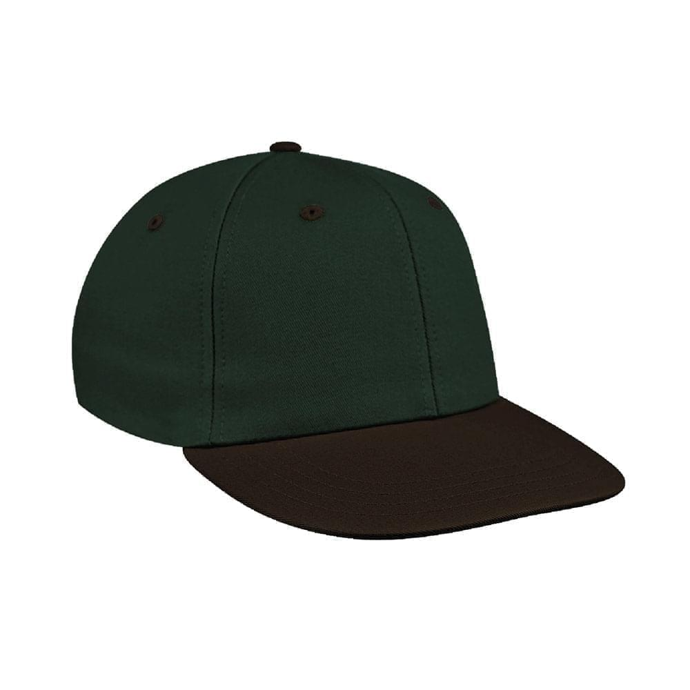 Hunter Green-Black Canvas Velcro Prostyle