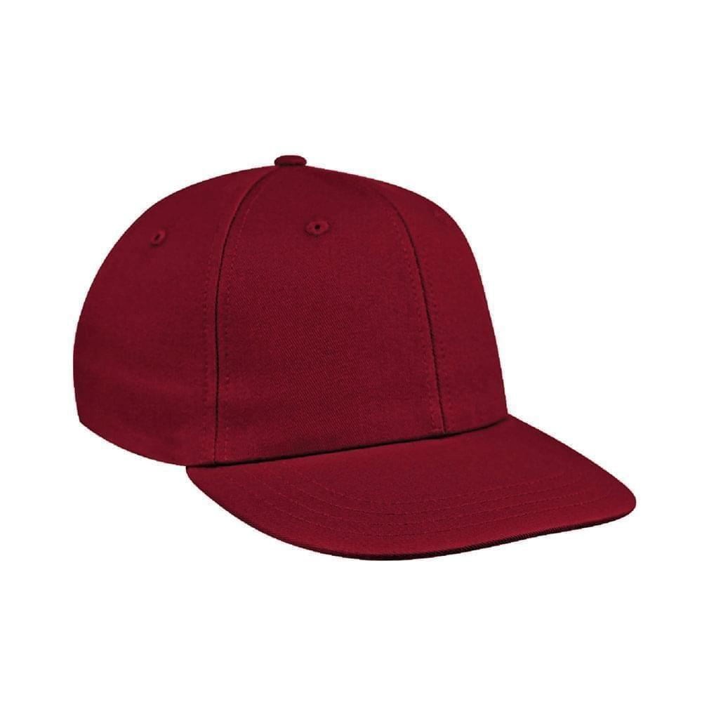 Red Canvas Snapback Prostyle