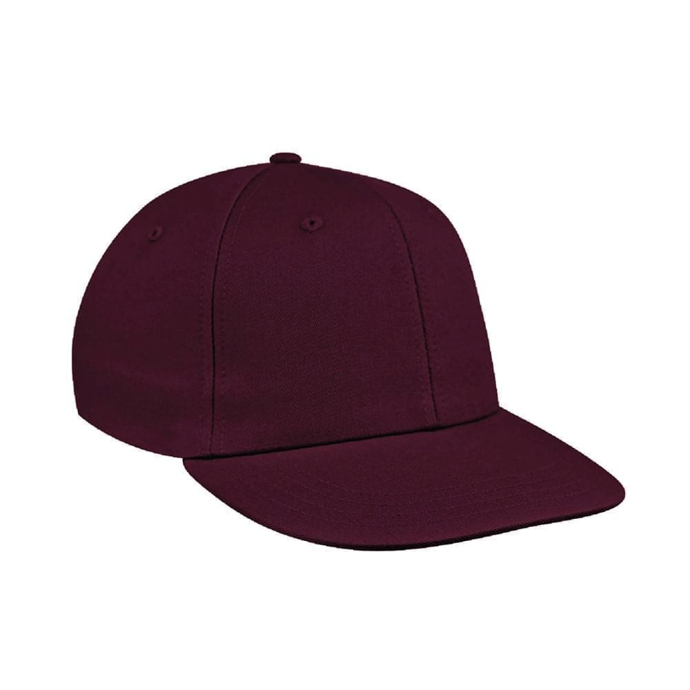 Burgundy Canvas Velcro Prostyle