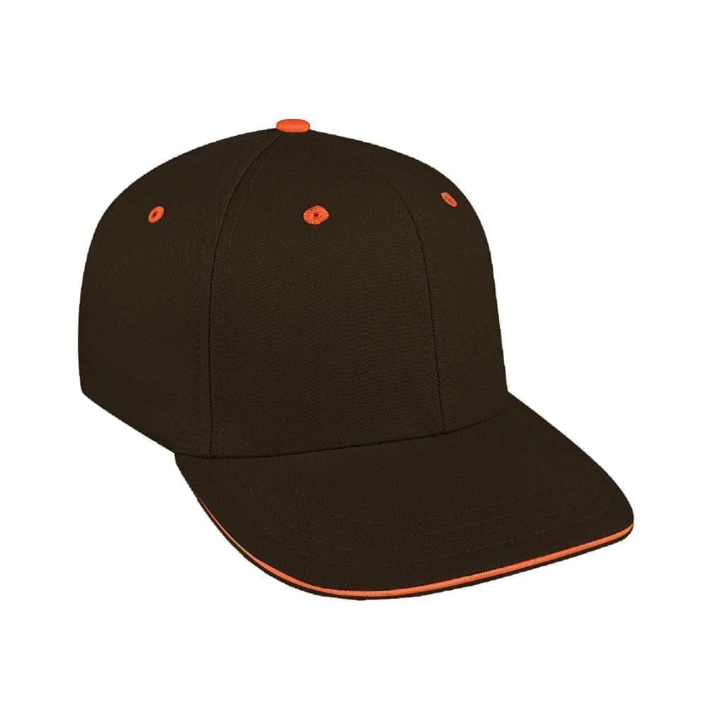 Black-Orange Canvas Slide Buckle Prostyle