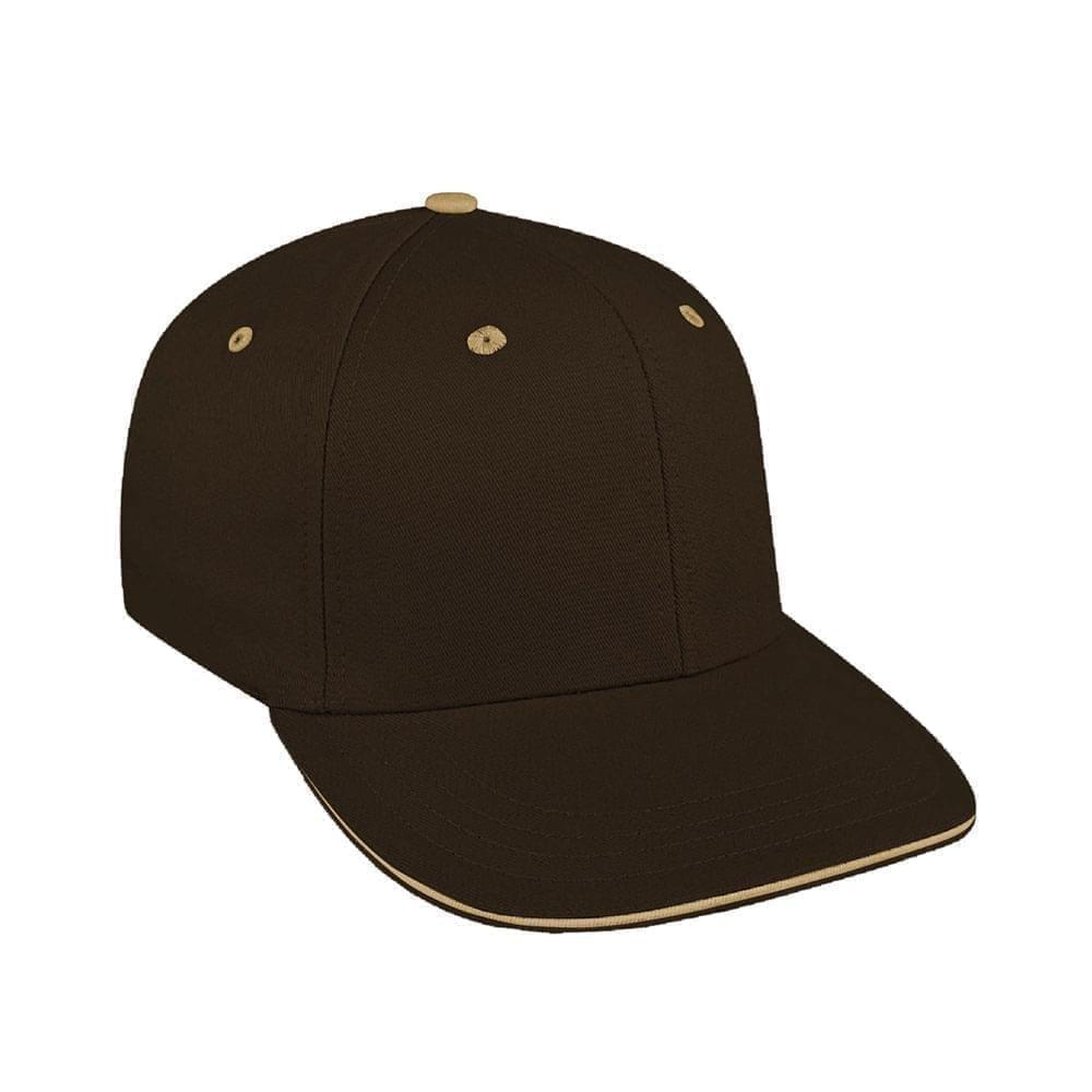 Black-Khaki Canvas Leather Prostyle