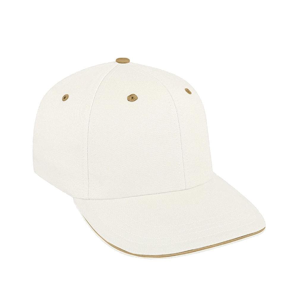 White-Khaki Canvas Leather Prostyle