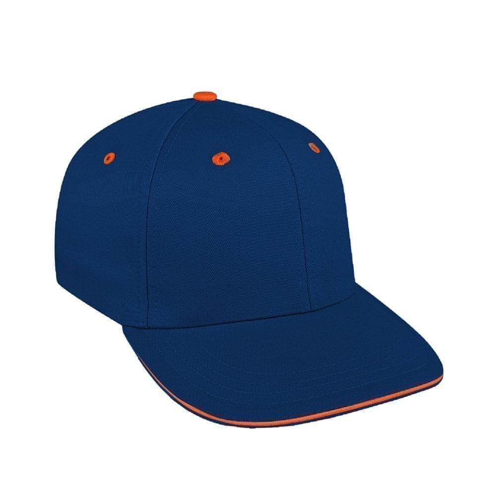 Navy-Orange Canvas Velcro Prostyle