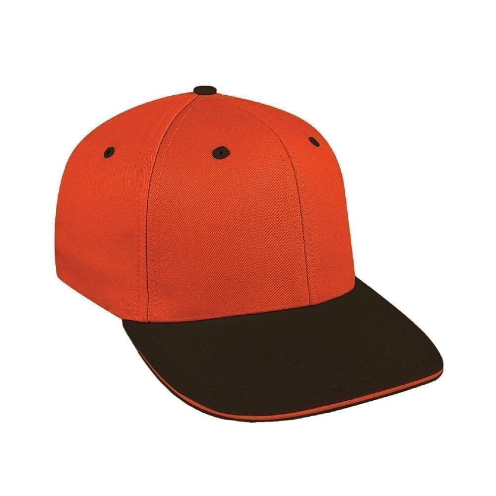 Orange-Black Canvas Velcro Prostyle