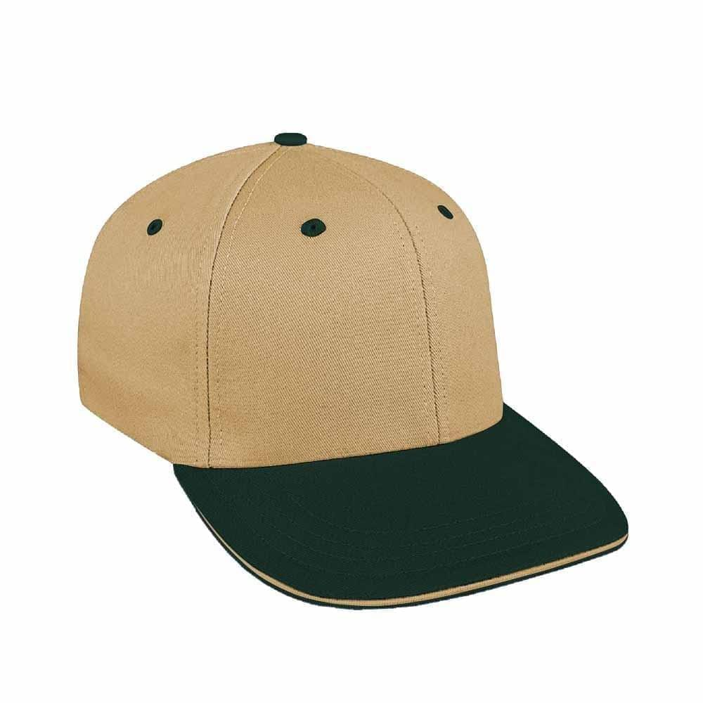Khaki-Hunter Green Canvas Leather Prostyle