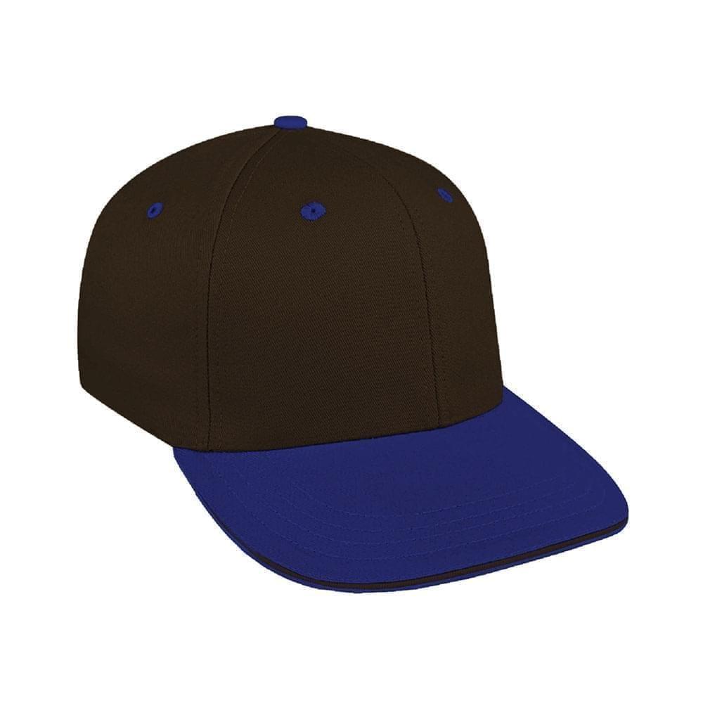 Black-Royal Blue Canvas Leather Prostyle