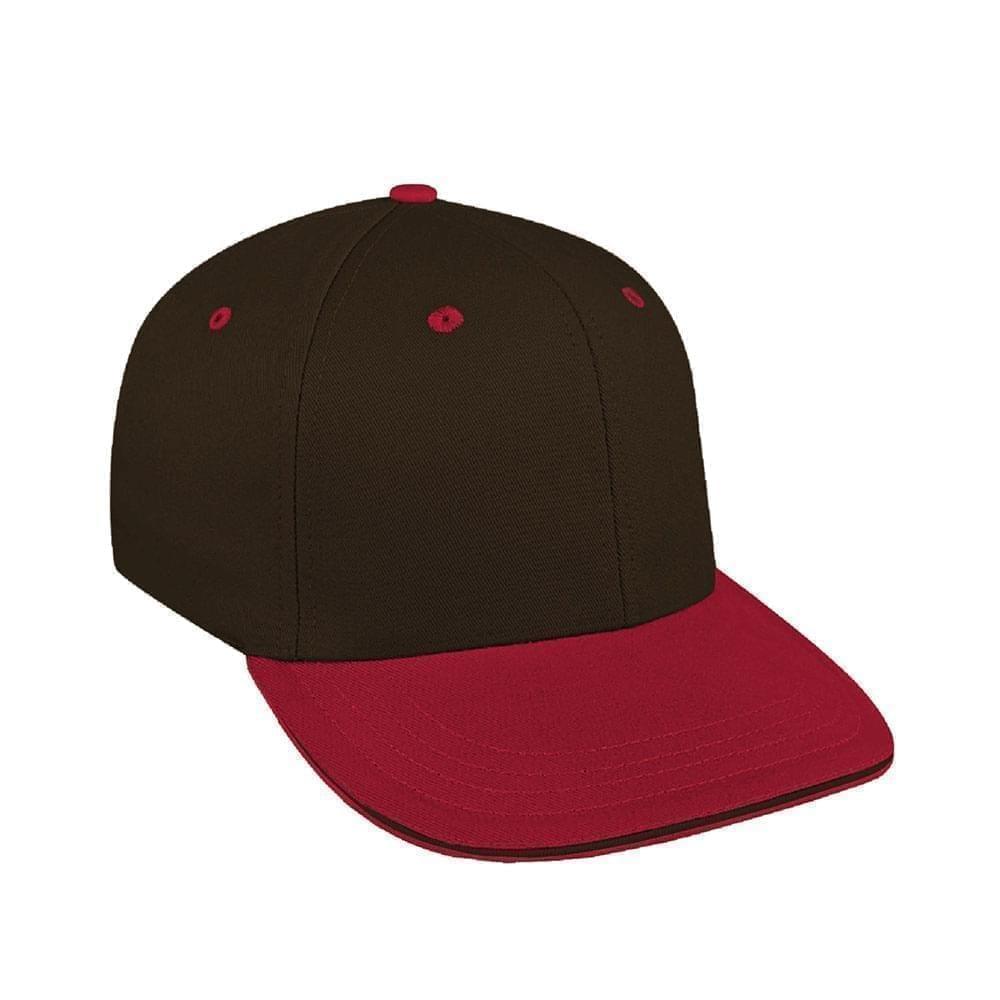 Black-Red Canvas Snapback Prostyle