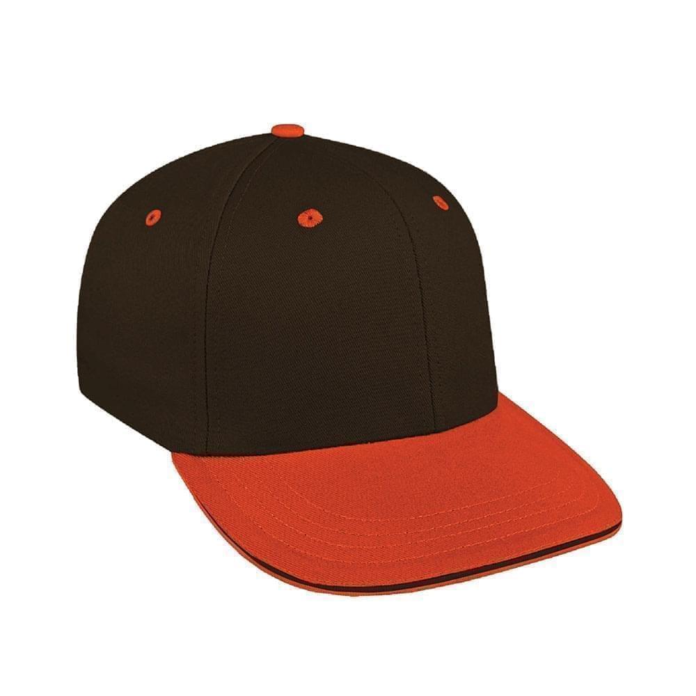 Black-Orange Canvas Velcro Prostyle
