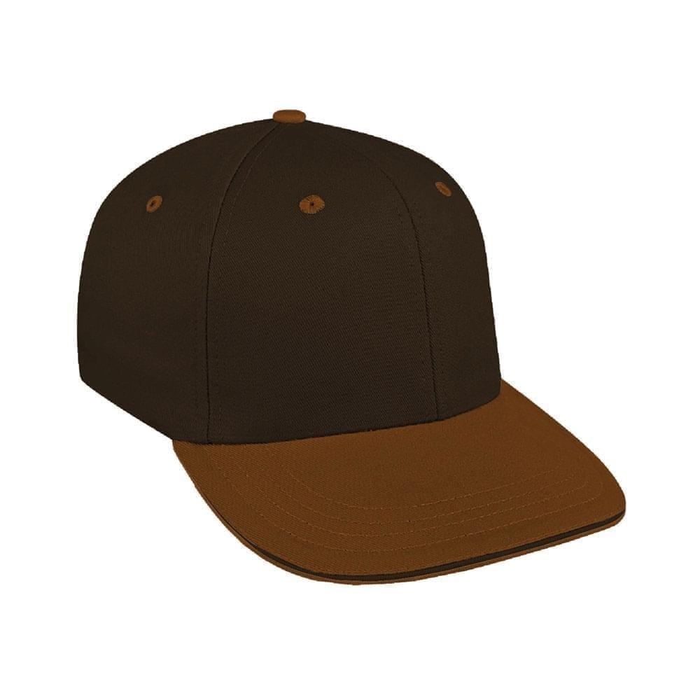 Black-Light Brown Canvas Velcro Prostyle