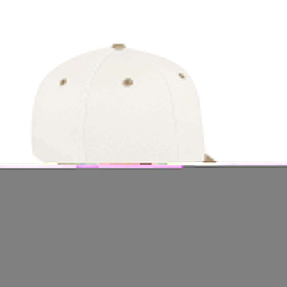White-Khaki Canvas Snapback Prostyle