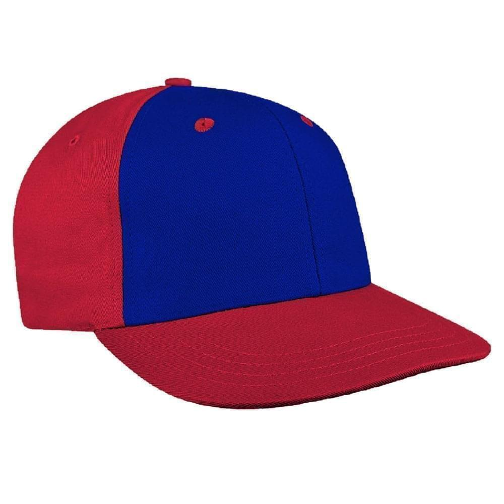 Royal Blue-Red Canvas Self Strap Prostyle