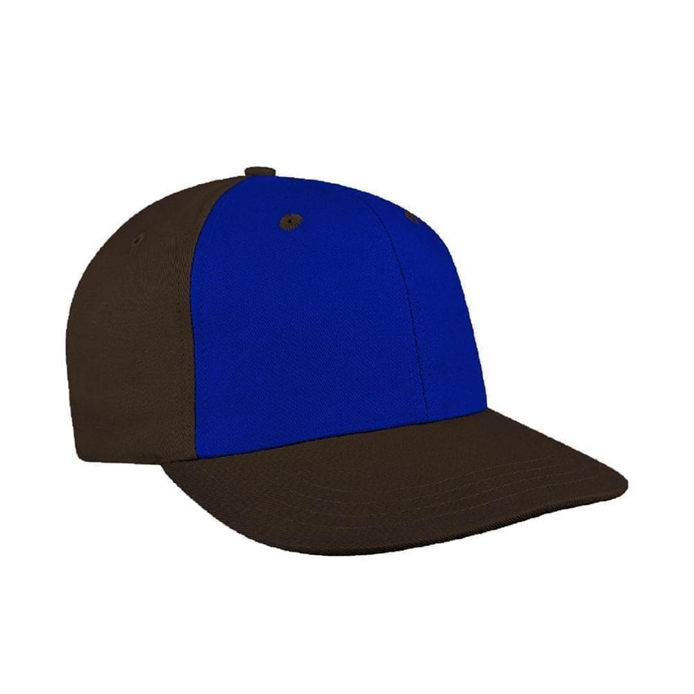 Royal Blue-Black Canvas Snapback Prostyle