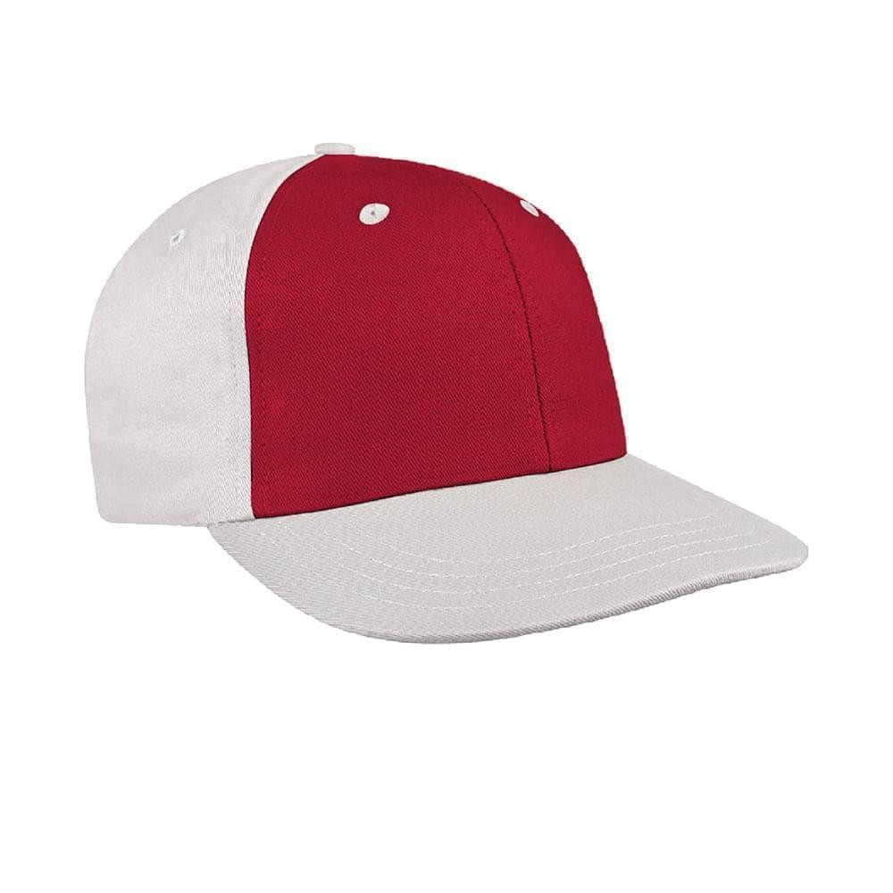 Red-White Canvas Snapback Prostyle