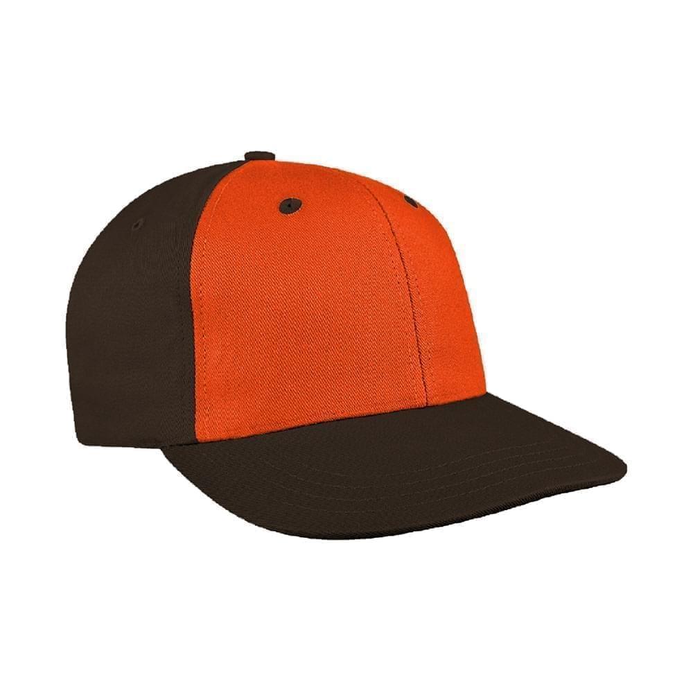 Orange-Black Canvas Snapback Prostyle