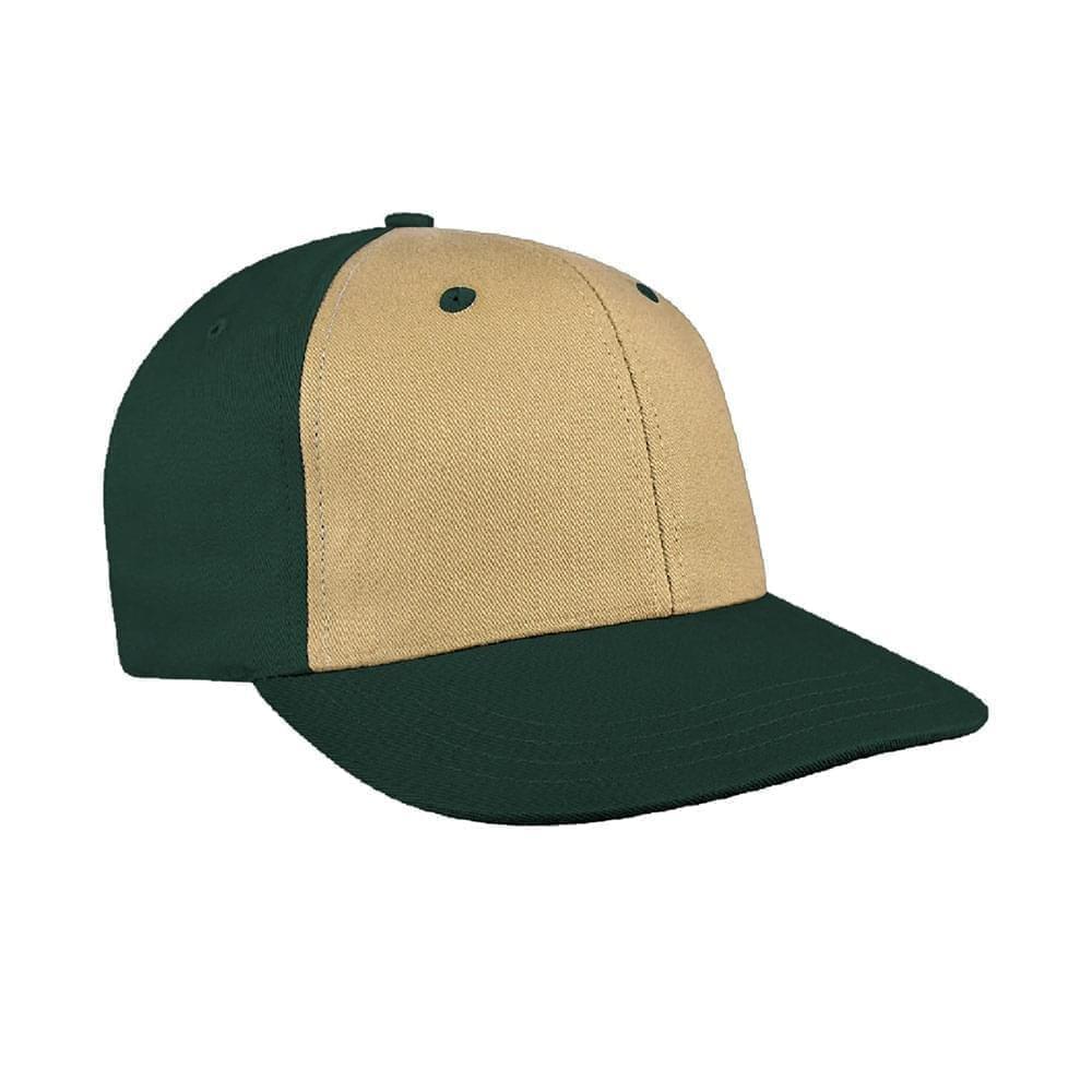 Khaki-Hunter Green Canvas Snapback Prostyle